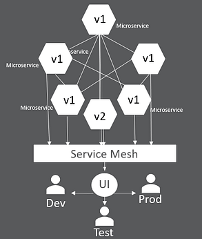 Miroservice application model